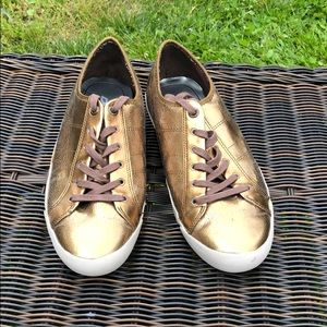 Shoes - Gold DKNY Sneaker